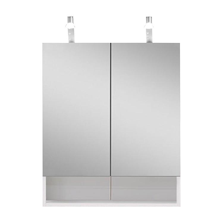 Armoire à miroir Lund - Blanc, Giessbach
