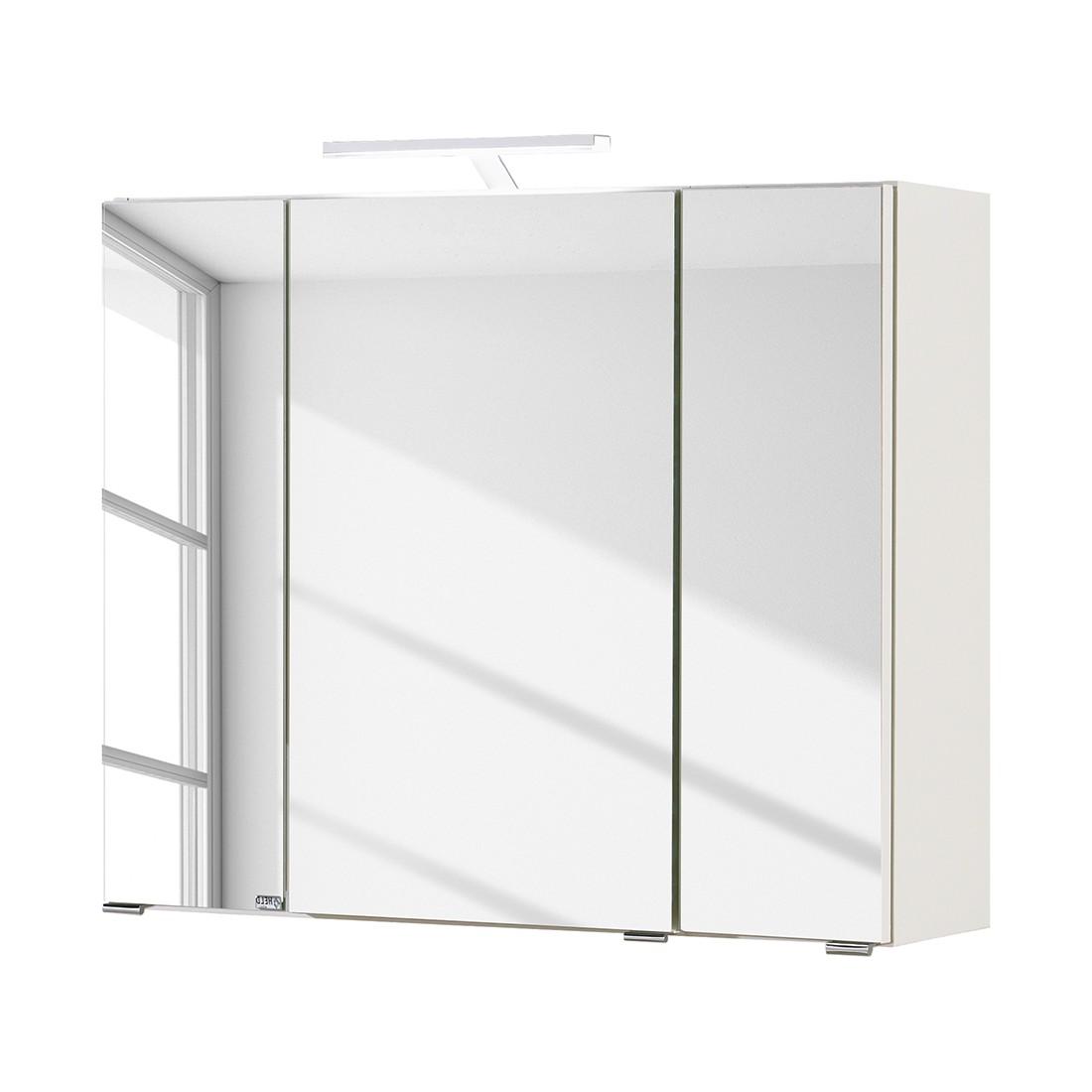 Armoire avec miroir Turda II - Avec éclairage Blanc, Giessbach