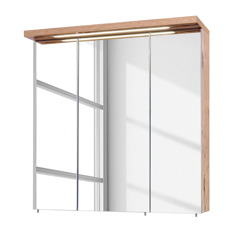 Armoire à miroir Visano (avec éclairage)