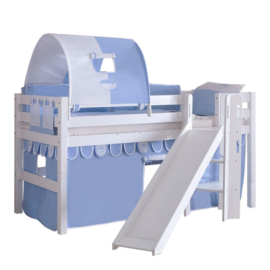 blau wei vorhang preisvergleich die besten angebote online kaufen. Black Bedroom Furniture Sets. Home Design Ideas