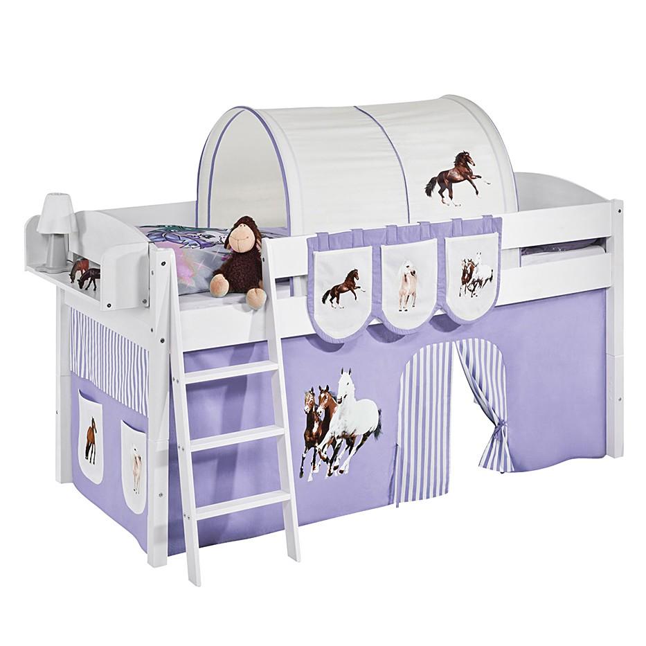 Spielbett IDA 4105 Pferde Lila