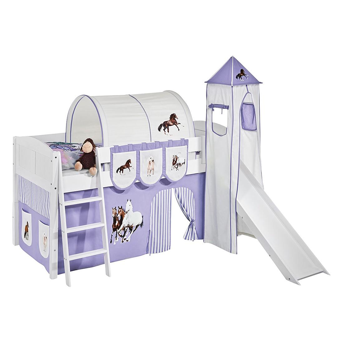 Spielbett IDA 4106 Pferde Lila