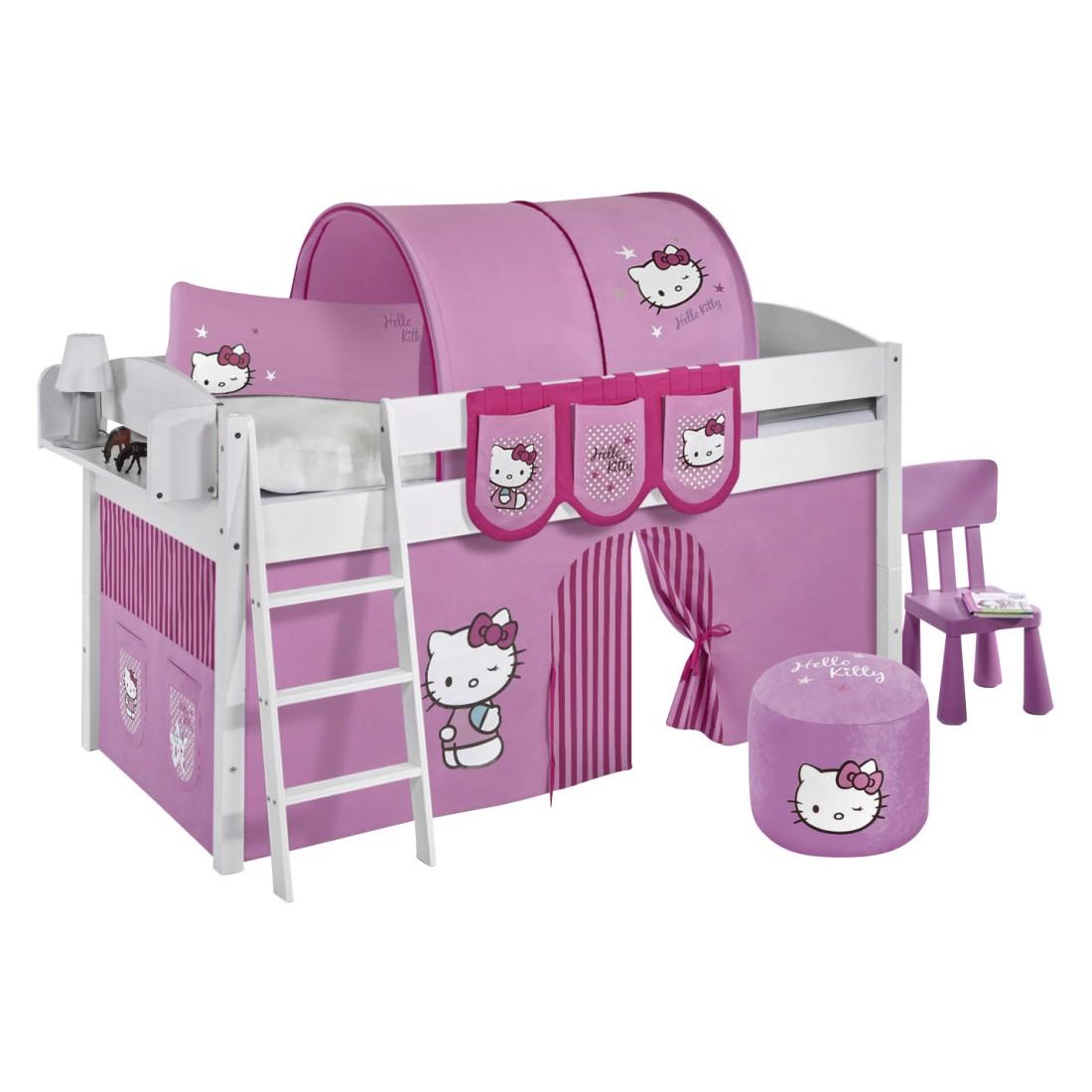 Spielbett IDA Hello Kitty Rosa