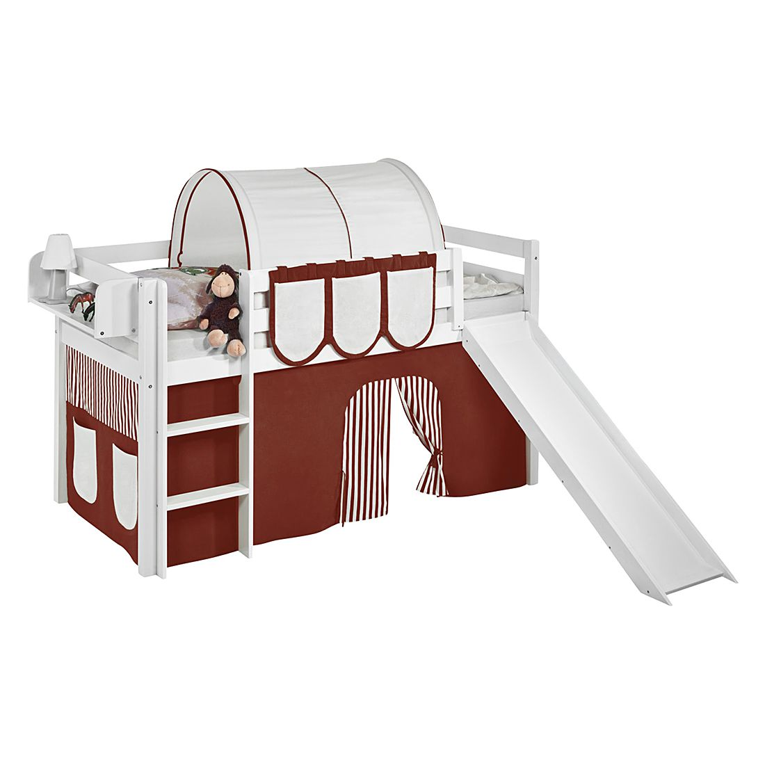 hochbett mit rutsche preisvergleich die besten angebote online kaufen. Black Bedroom Furniture Sets. Home Design Ideas
