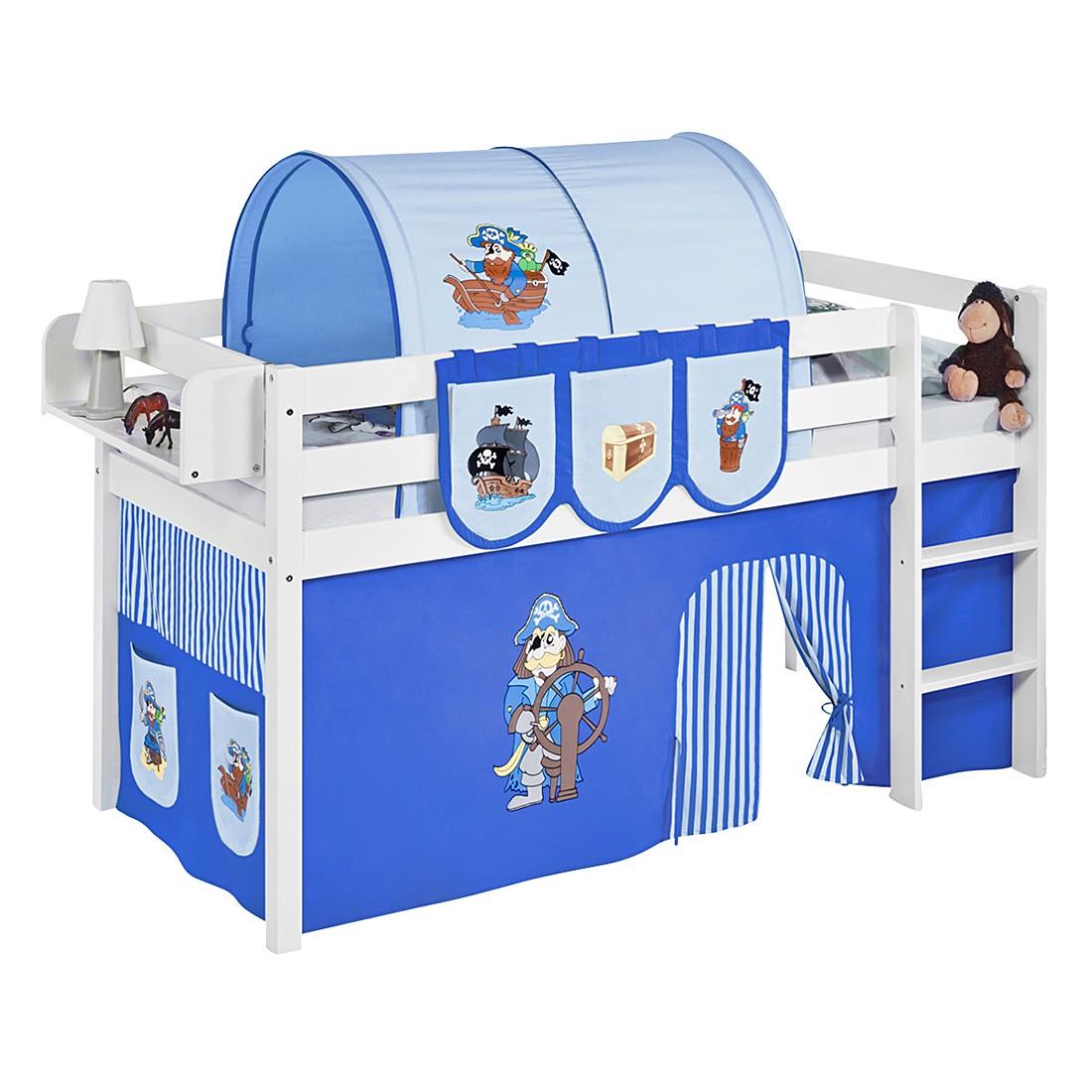 Spielbett JELLE Pirat Blau