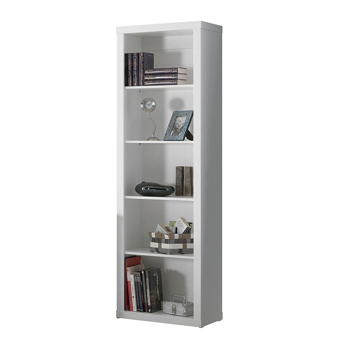 home24 Standregal Robin | Wohnzimmer > Regale > Einzelregale | Weiss | Holz | Vipack