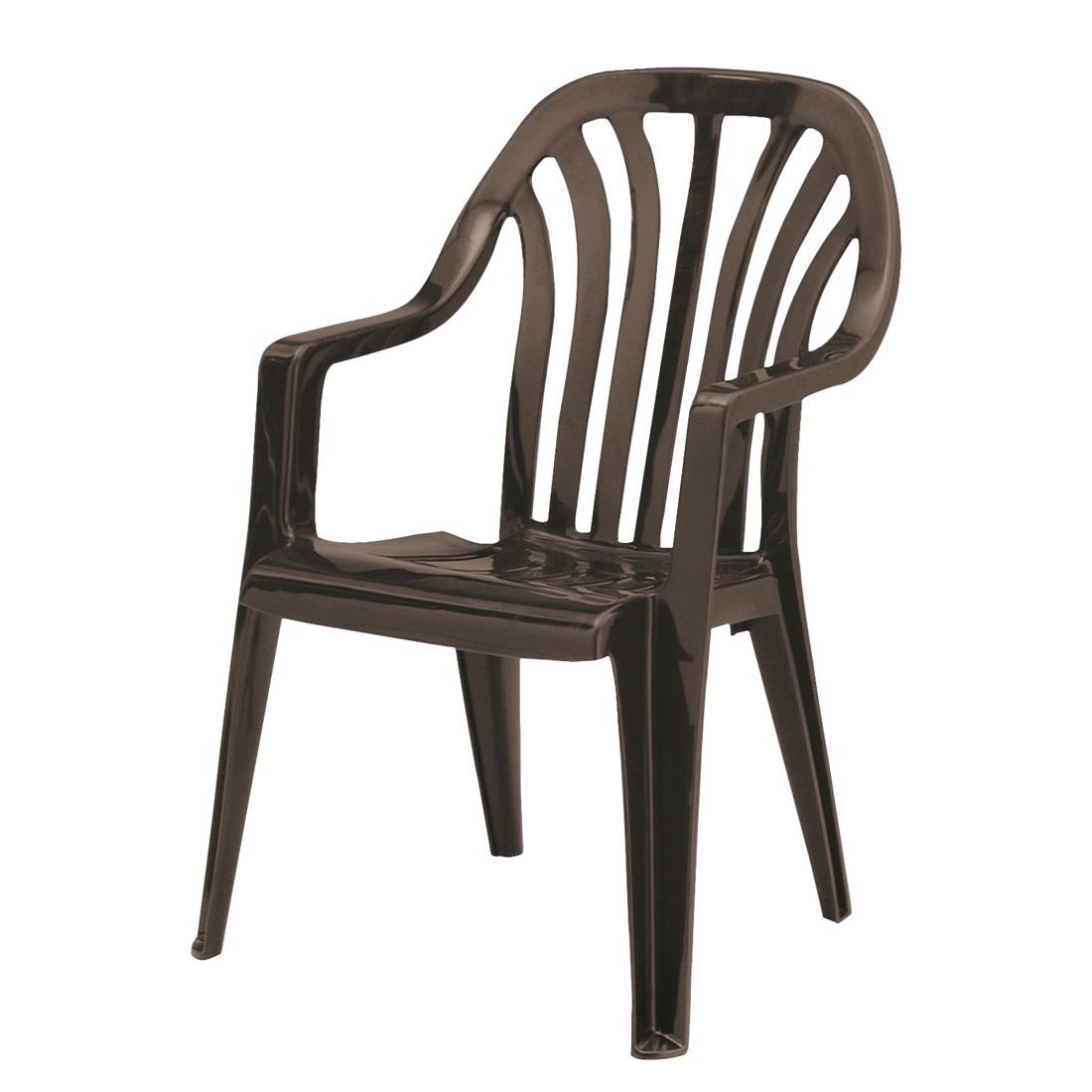 Stapelstuhl Laredo - Kunststoff - Braun, Best Freizeitmöbel bei Home24 - Sonderangebote