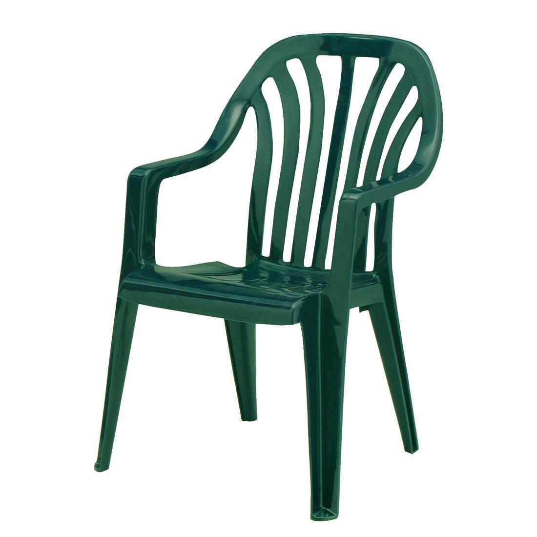 Stapelstuhl Laredo - Kunststoff - Grün, Best Freizeitmöbel bei Home24 - Sonderangebote