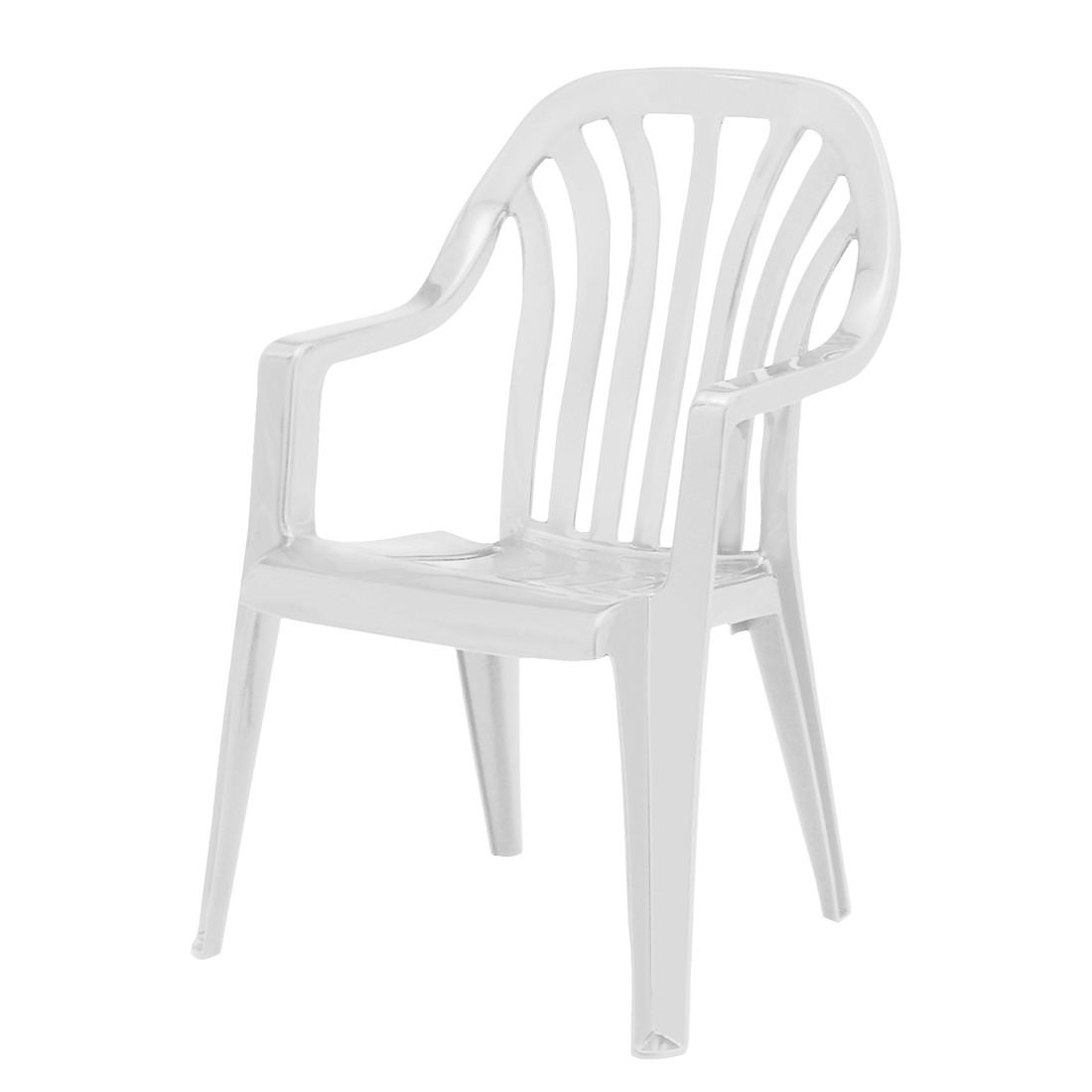 Stapelstuhl Laredo - Kunststoff - Weiß, Best Freizeitmöbel bei Home24 - Sonderangebote