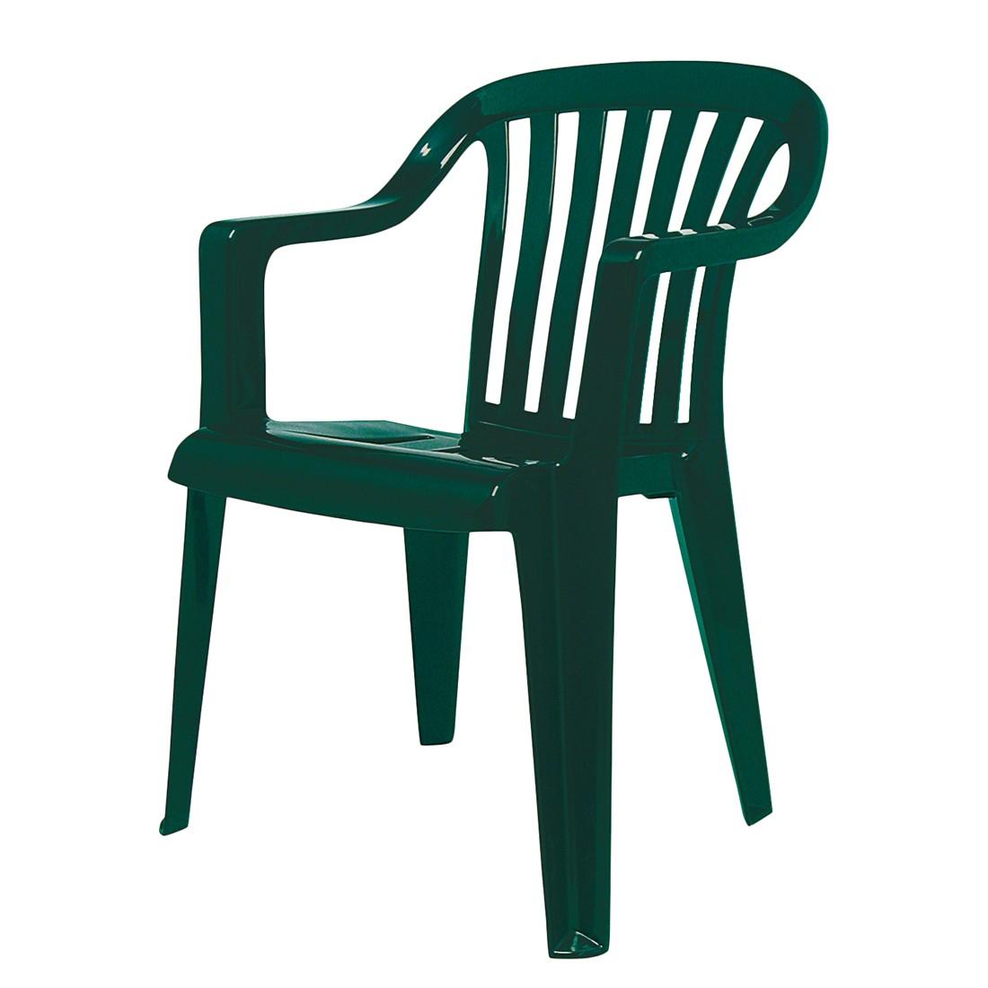 Stapelstuhl Memphis - Kunststoff - Grün, Best Freizeitmöbel