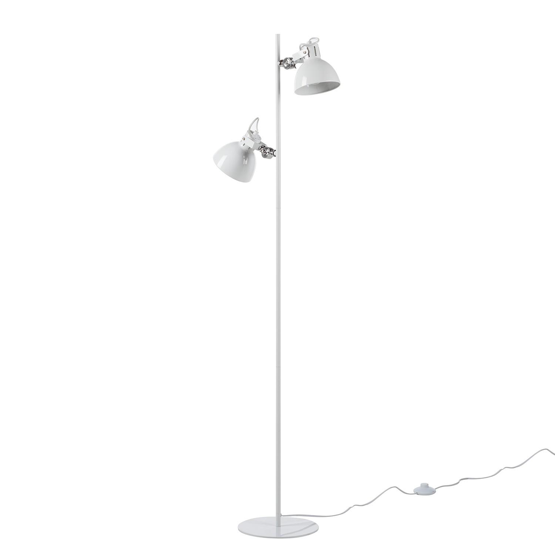 EEK A++, Lampadaire Pikey - Fer - 2 ampoules, Loistaa