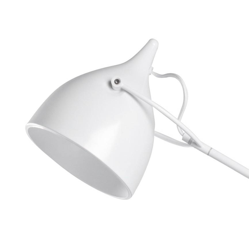 Stehleuchte Reader - Metall Weiß | home24