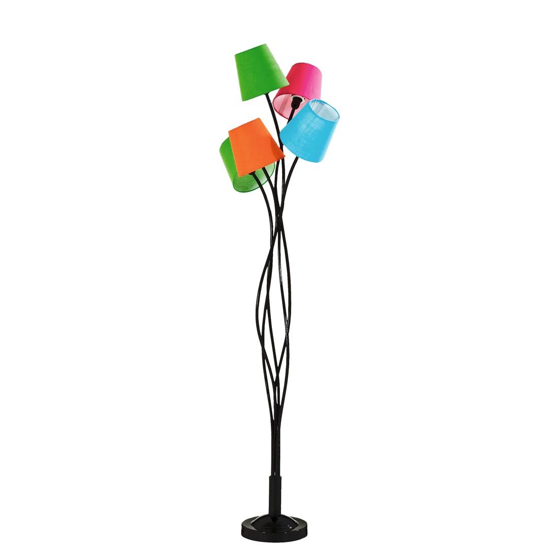 EEK A++, Lampadaire SL 5ue Colore - Métal / Tissu 5 ampoules, Kare Design