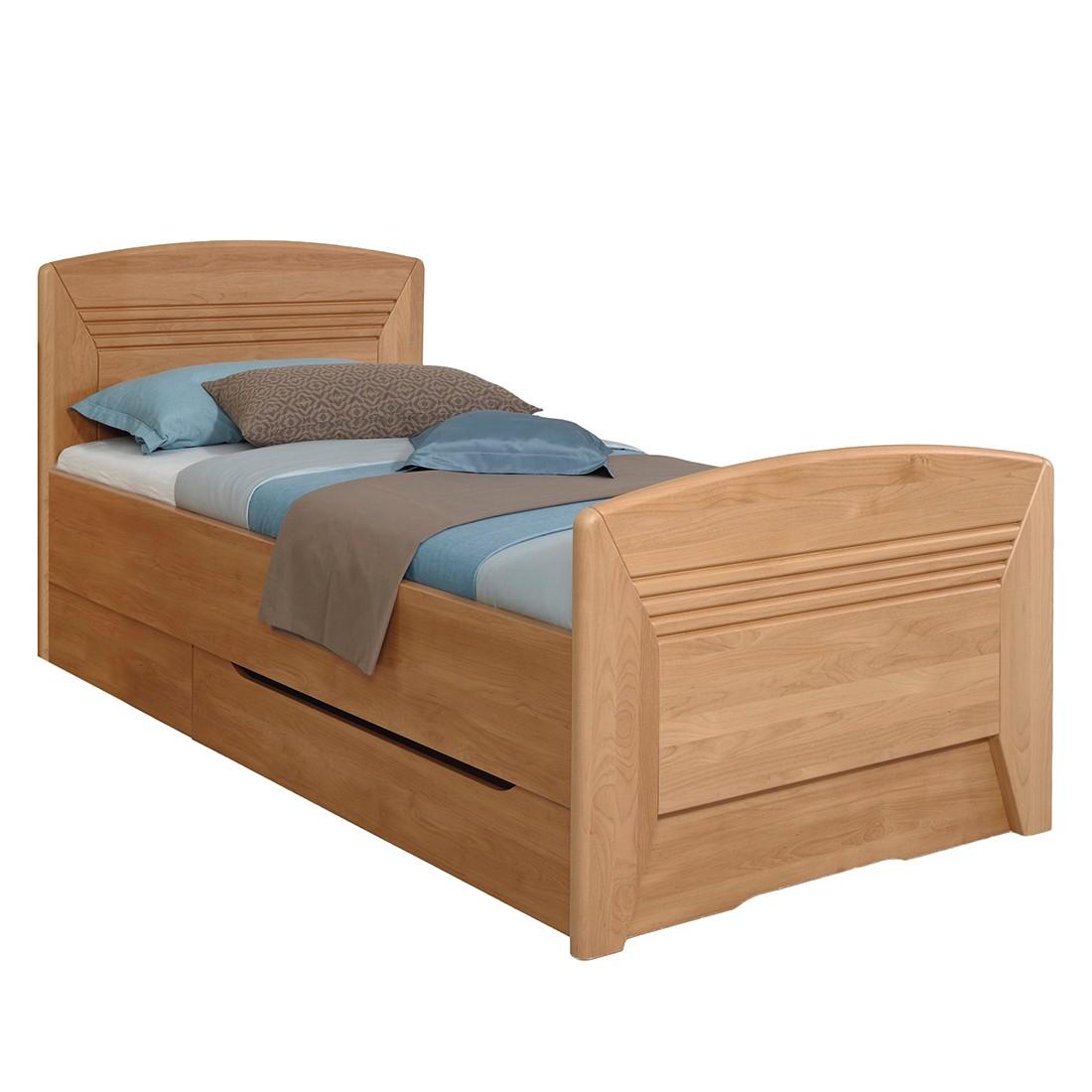 home24 Teilmassives Komfortbett Valerie I | Schlafzimmer > Betten > Komfortbetten | Braun | Holz - Teilmassiv | Rauch Steffen