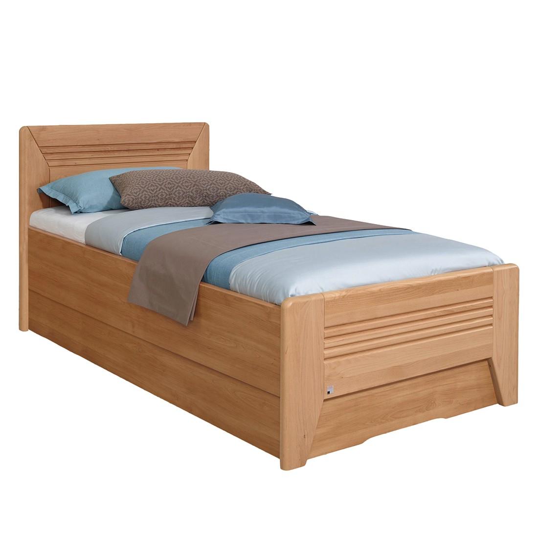 home24 Teilmassives Komfortbett Valerie III | Schlafzimmer > Betten > Komfortbetten | Braun | Holz teilmassiv | Rauch Steffen