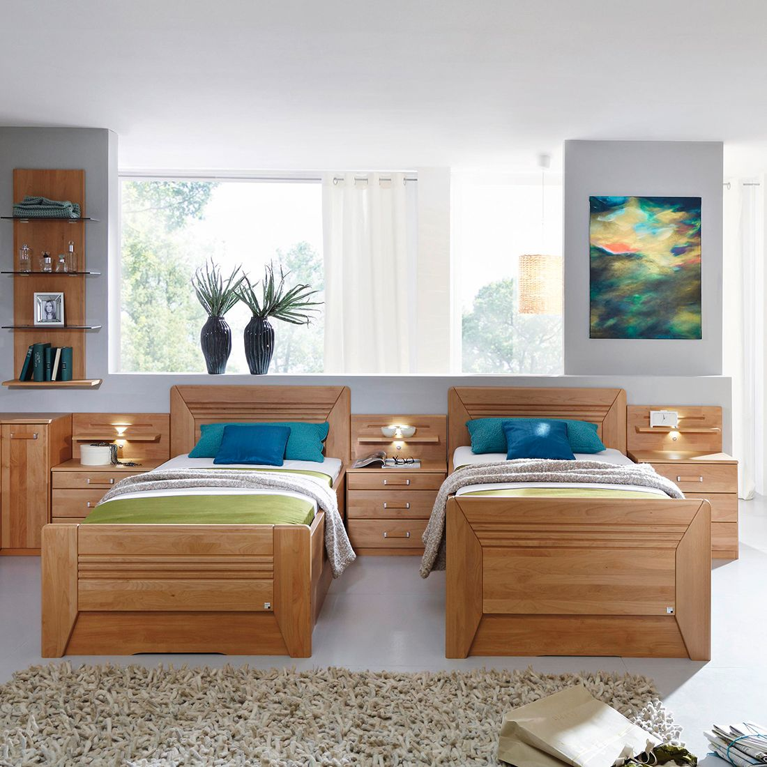 home24 Teilmassives Komfortbett Valerie III   Schlafzimmer > Betten > Komfortbetten