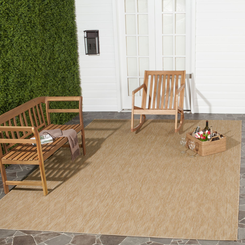 Safavieh In & Outdoor Teppich Biarritz Beige Rechteckig 120x180 cm (BxT) Modern Kunstfaser