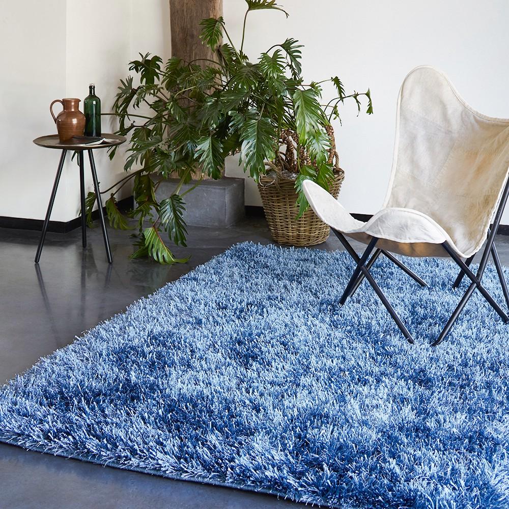 home24 Teppich Cool Glamour | Heimtextilien > Teppiche > Sonstige-Teppiche | Blau | Esprit