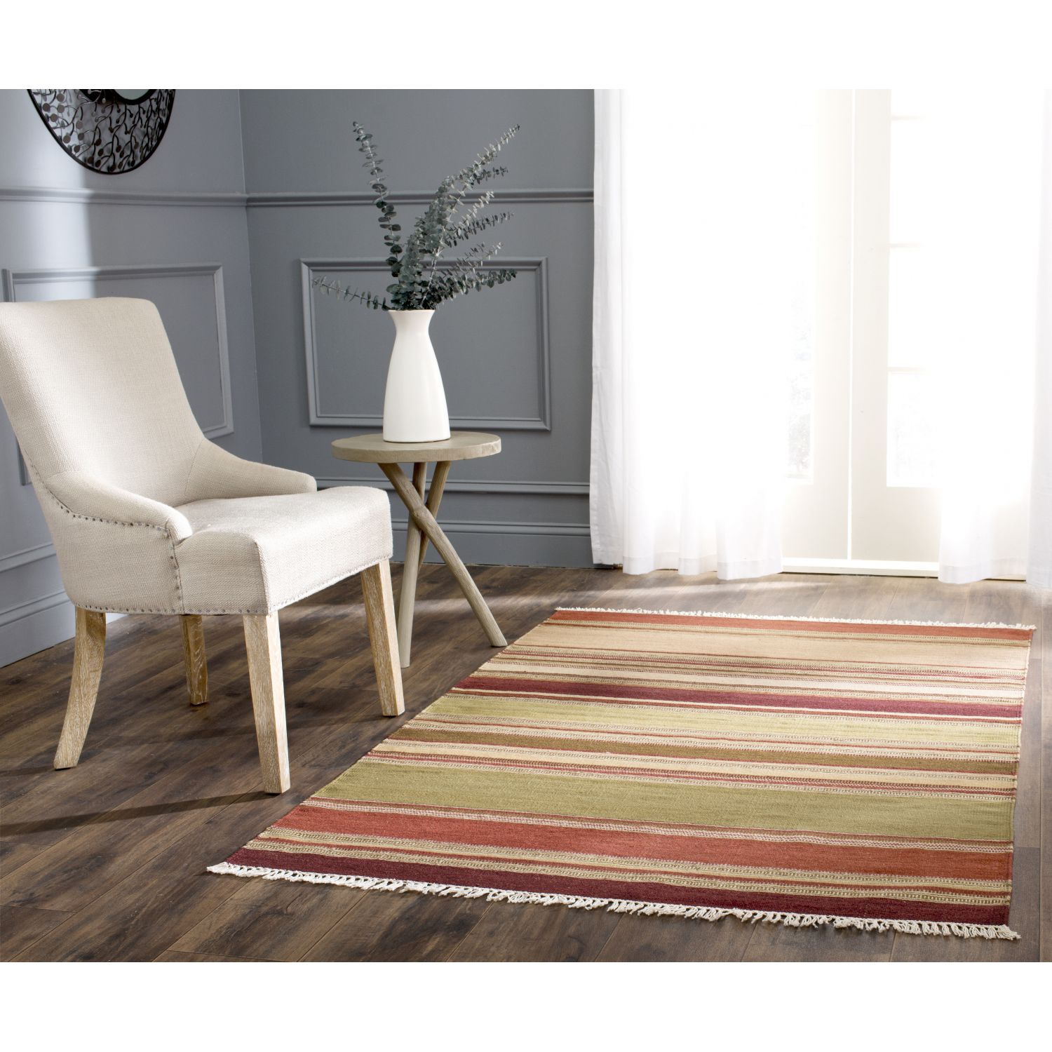 home24 Teppich Dalat Striped Kilim