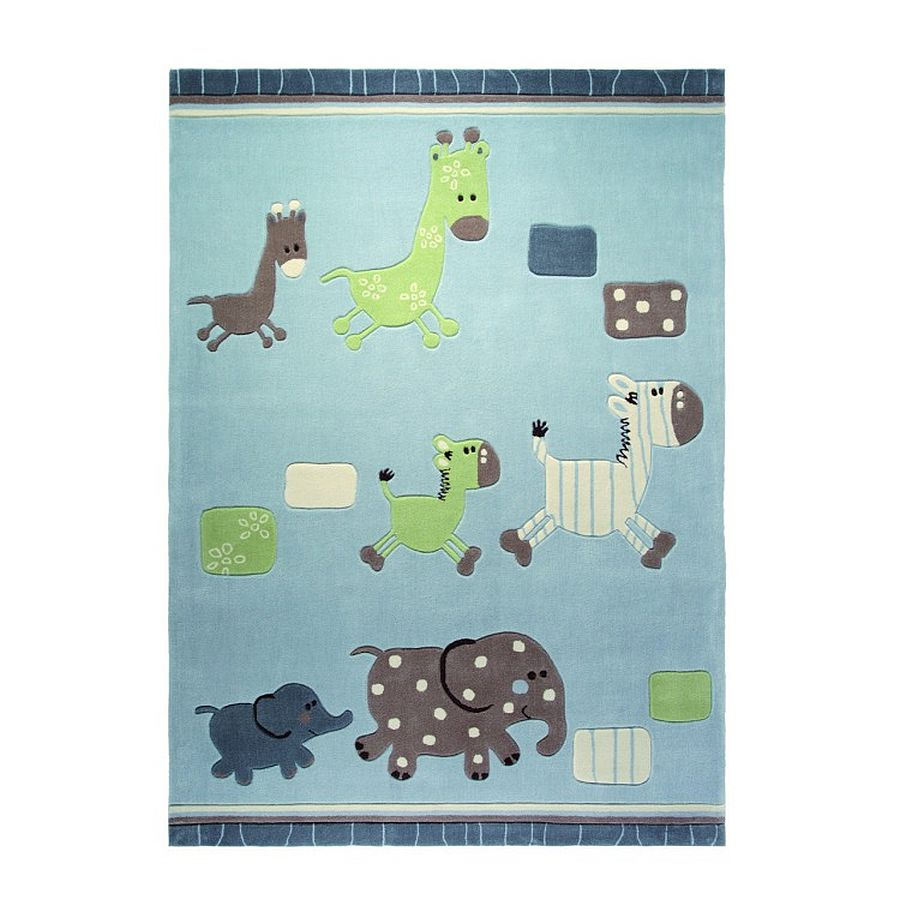 home24 Teppich ESPRIT Lucky Zoo