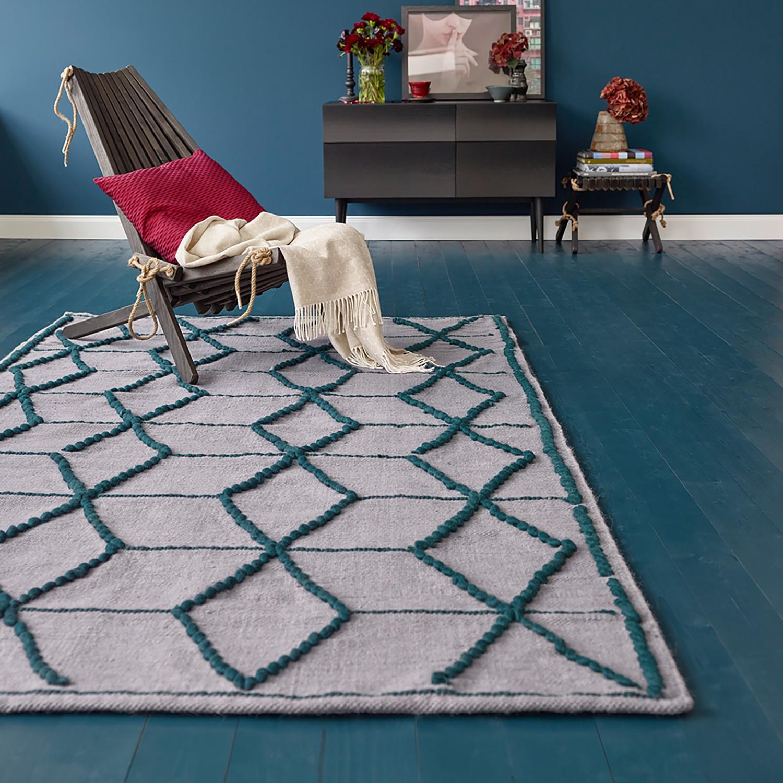 Teppich Fiesta handgewebt Deal 5130