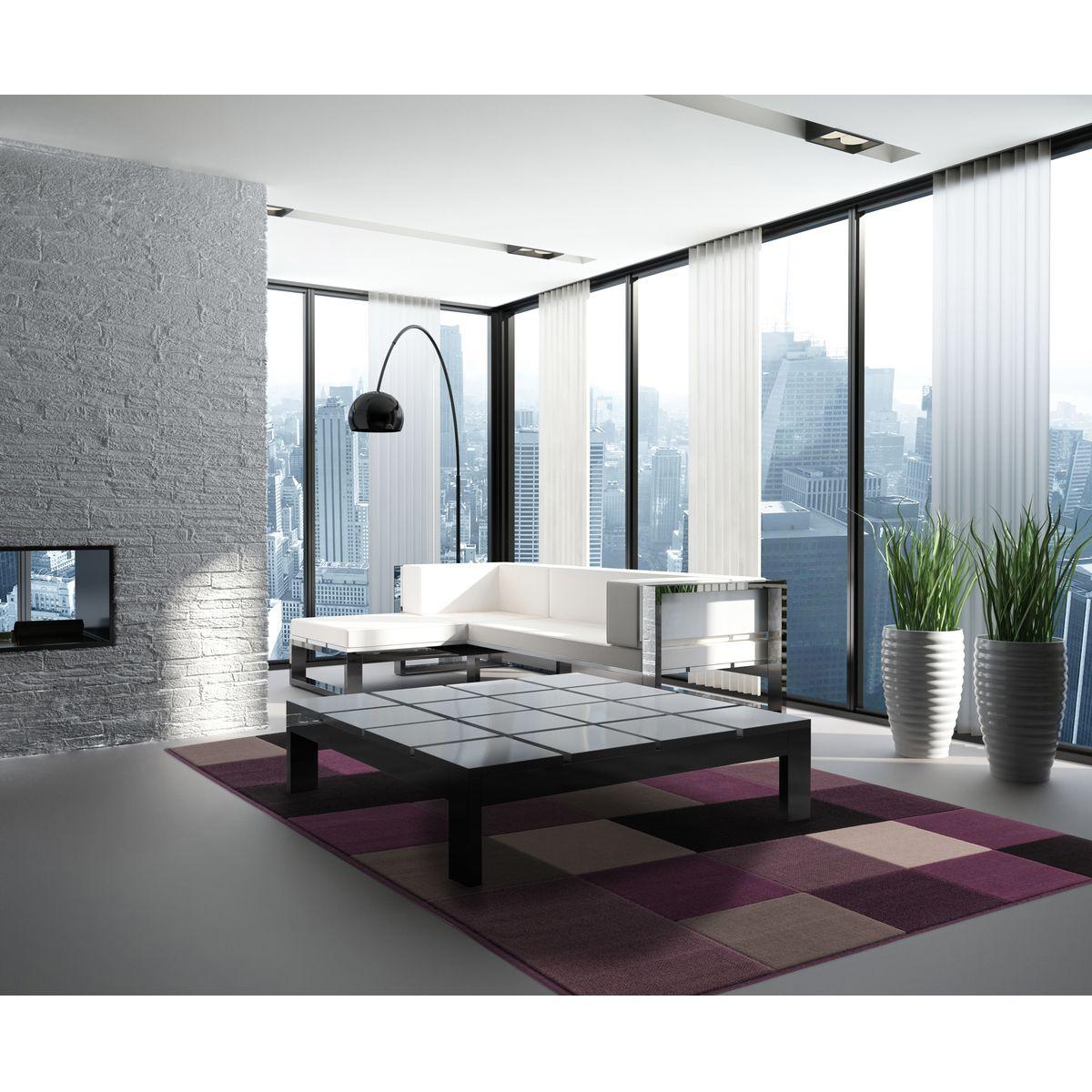 home24 Teppich Funky 2034