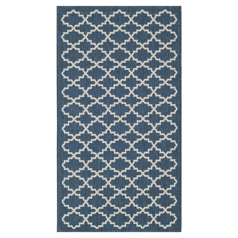 home24 Teppich Gwen | Heimtextilien > Teppiche | Blau | Textil | Safavieh