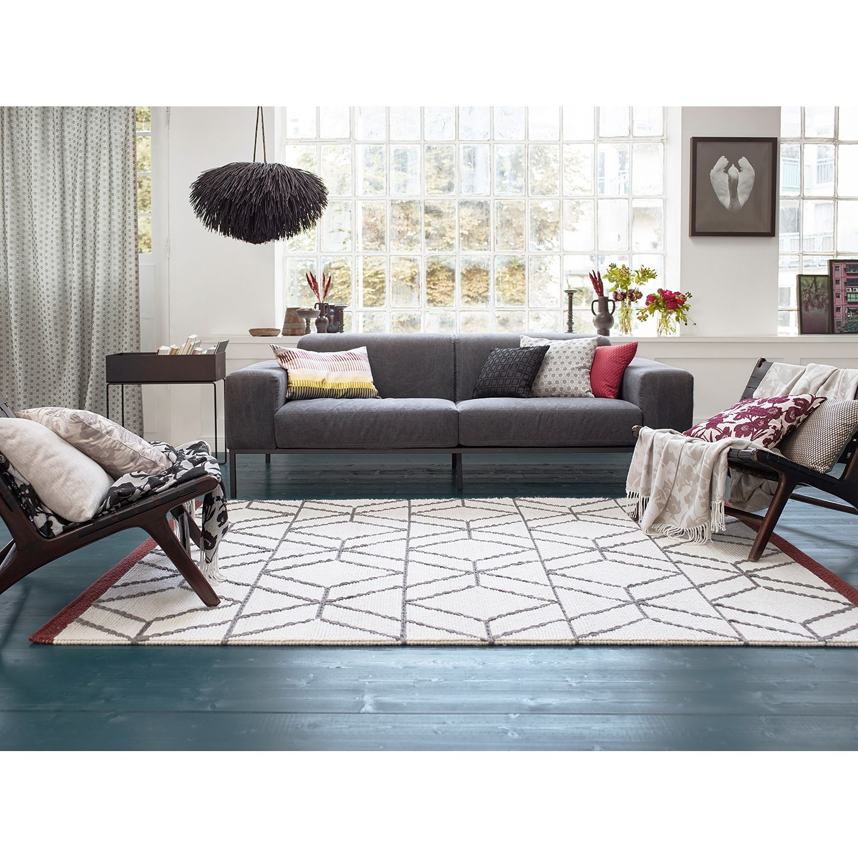 Teppich Hexagon handgewebt