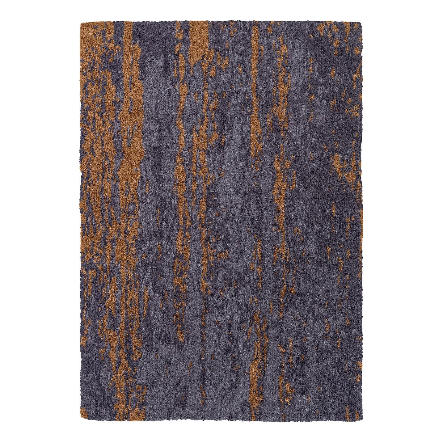 Teppich Impression - Kunstfaser - Grau / Gold - 160 x 230 cm, Schöner Wohnen Kollektion