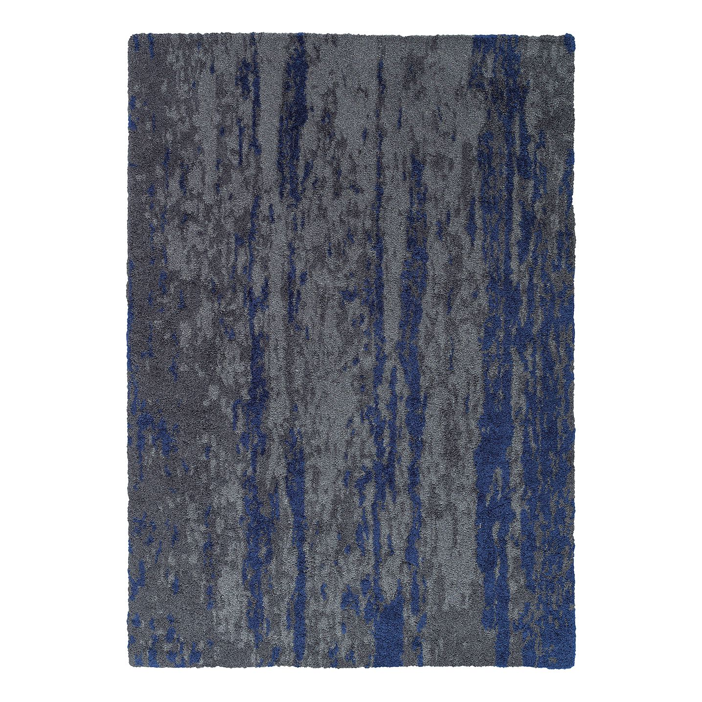 Teppich Impression - Kunstfaser - Grau / Blau - 160 x 230 cm, Schöner Wohnen Kollektion