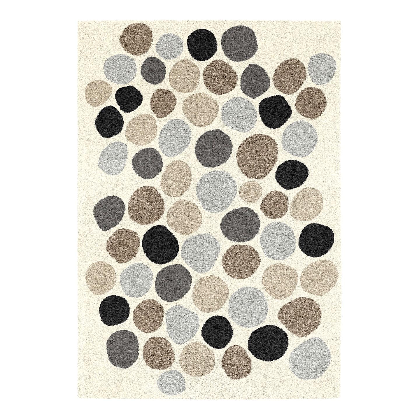 Teppich Play V - Kunstfaser - Creme / Grau - 120 x 170 cm, Top Square