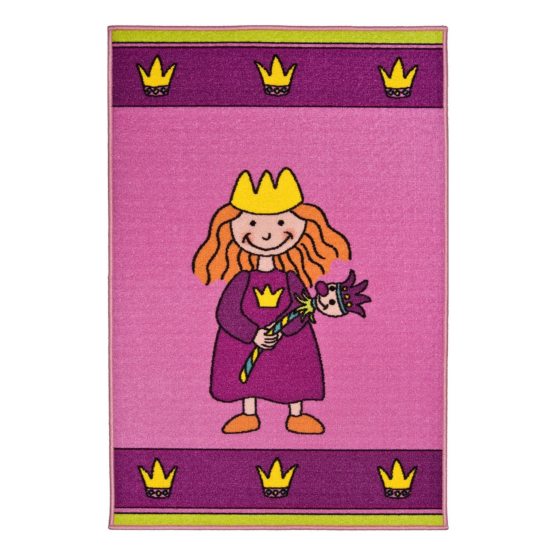 home24 Kinderteppich Prinzessin | Kinderzimmer > Textilien für Kinder > Kinderteppiche | Pink | Textil | andiamo