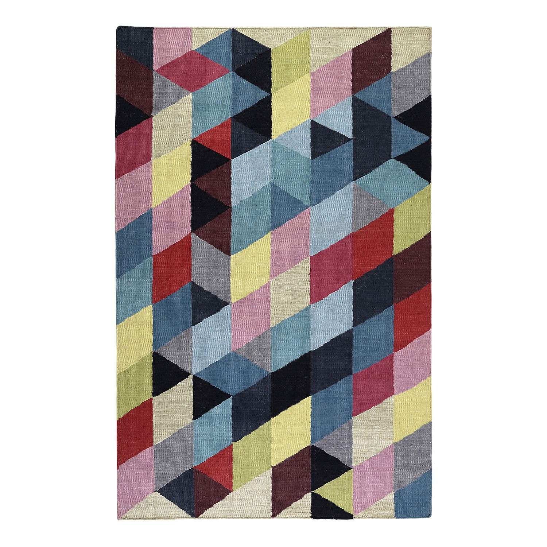 Teppich Rainbow Triangle Kelim