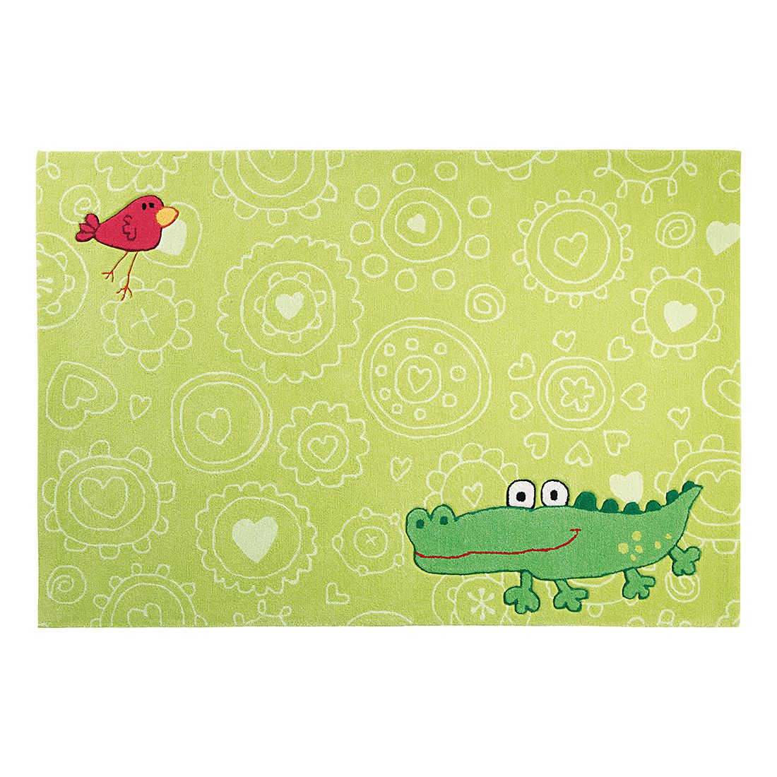 Teppich Sigikid Crocodile Happy Zoo