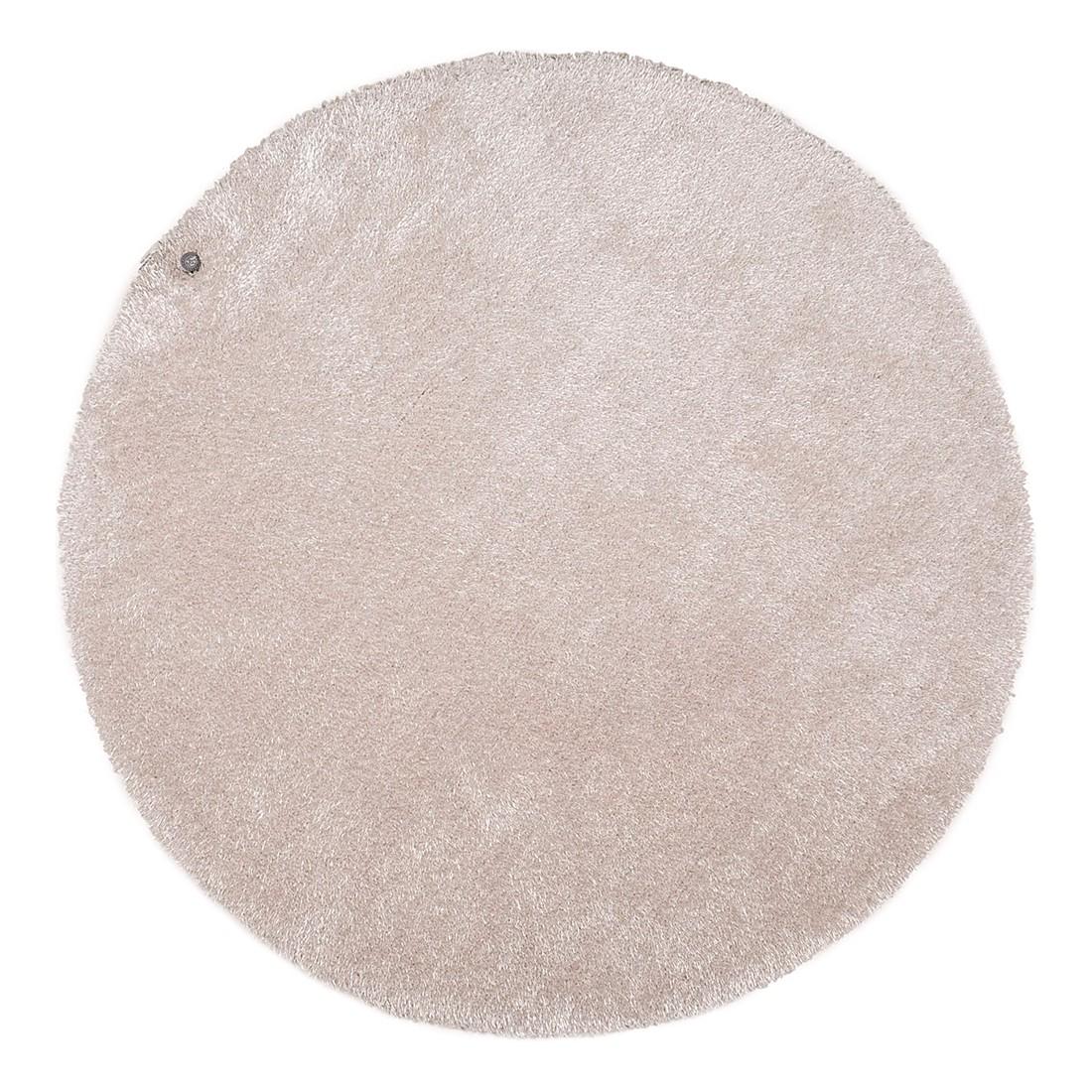 home24 Teppich Soft Round | Heimtextilien > Teppiche | Beige | Kunststoff | Tom Tailor