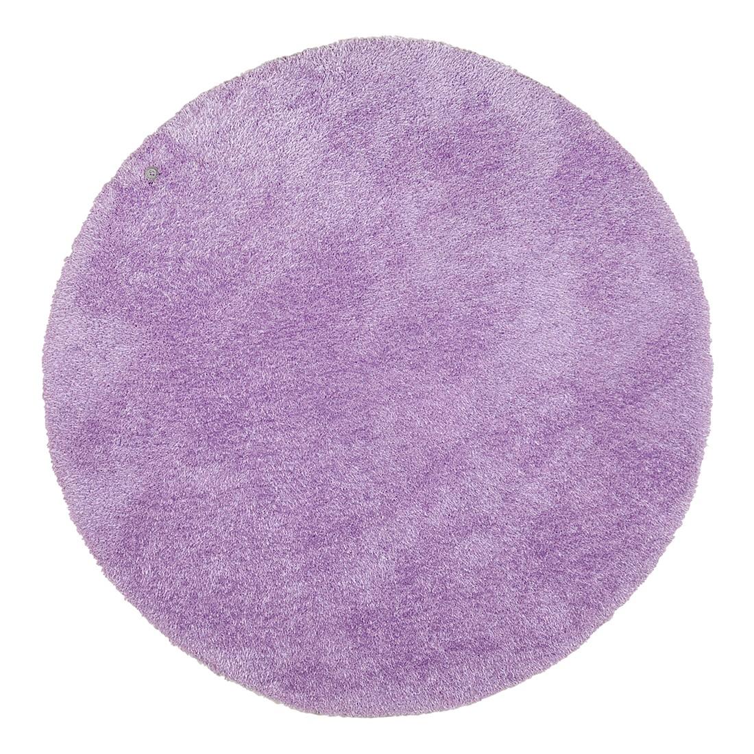 Image of Tappeto soft round - viola chiaro - dimensioni: 140 x 140 cm, Tom Tailor