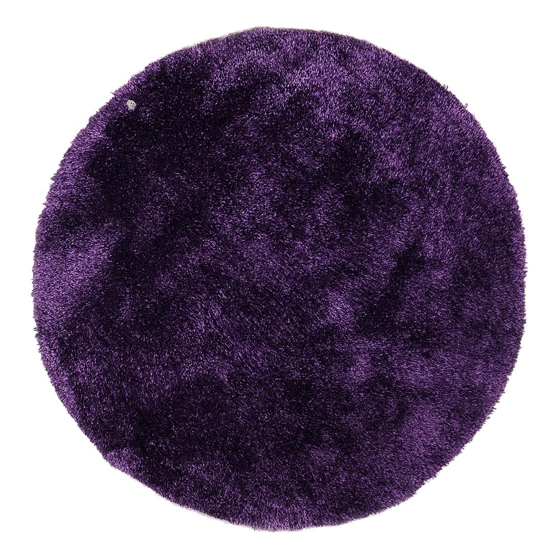 Image of Tappeto Soft Round - Viola - Dimensioni: 140 x 140 cm, Tom Tailor