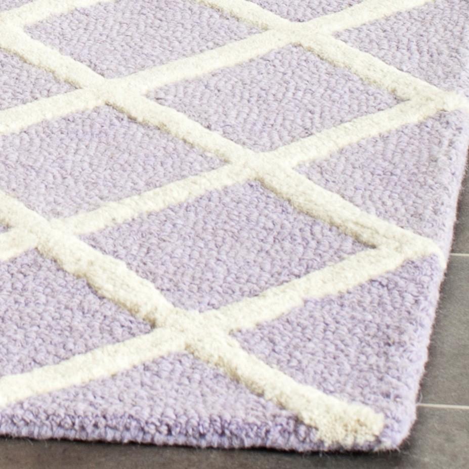 Teppich Sophie - Lavendel/Creme | home24