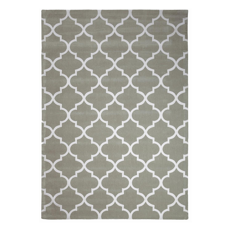 Teppich Tiva - Mischgewebe - Mintgrau - 160 x 230 cm, Top Square