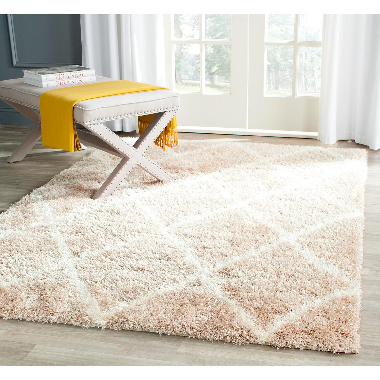 Safavieh Teppich Winnie Beige 160x230 cm (BxT) Modern Kunstfaser, Safavieh