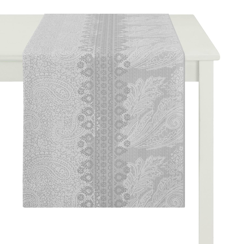home24 Tischlaeufer Country Home I   Heimtextilien > Tischdecken und Co > Tischläufer   Grau   Textil   Apelt