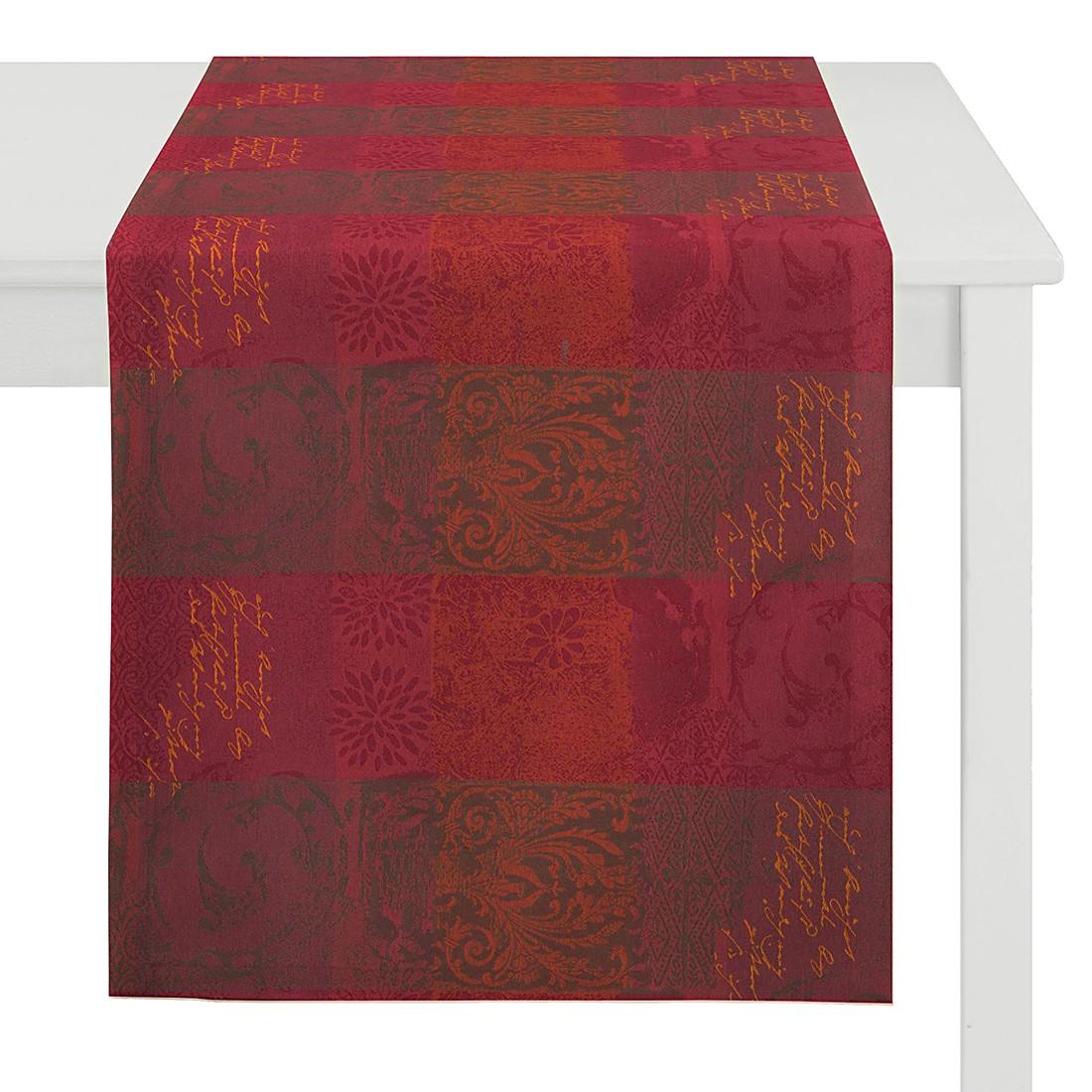 home24 Tischlaeufer Country Home V | Heimtextilien > Tischdecken und Co | Rot | Textil | Apelt