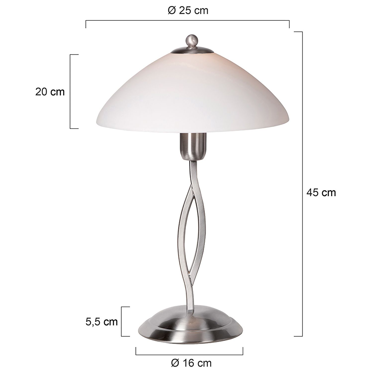 Lampe de table Capri