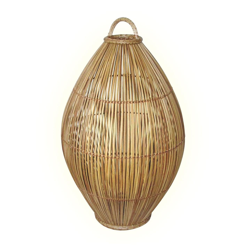 EEK A++, Lampe de table Caranna - Rotin - 1 ampoule, Eva Padberg Collection