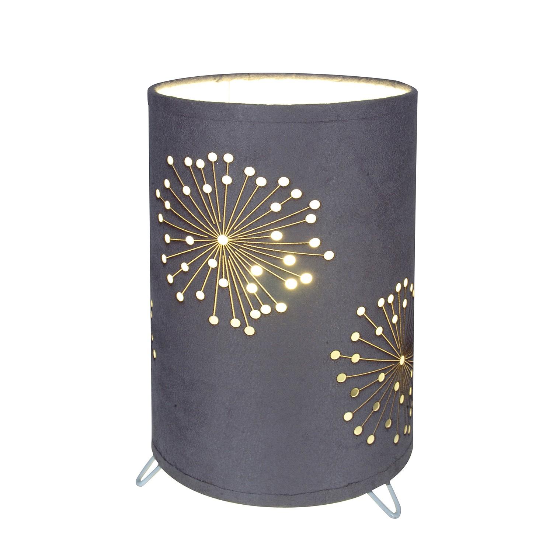 home24 Tischleuchte Dandelion | Lampen > Tischleuchten > Beistelltischlampen | Silber | Naeve