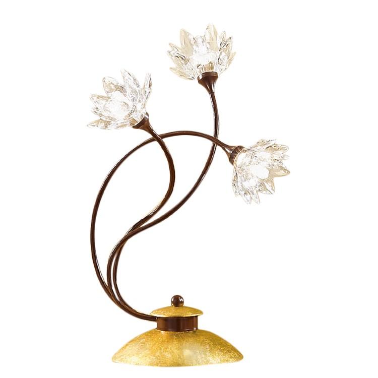 Lampada da tavolo Fiorella Gold, Hans Koegl