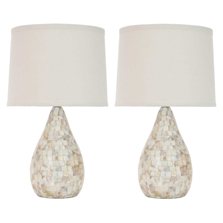 Lampe de table Laurelie (lot de 2)