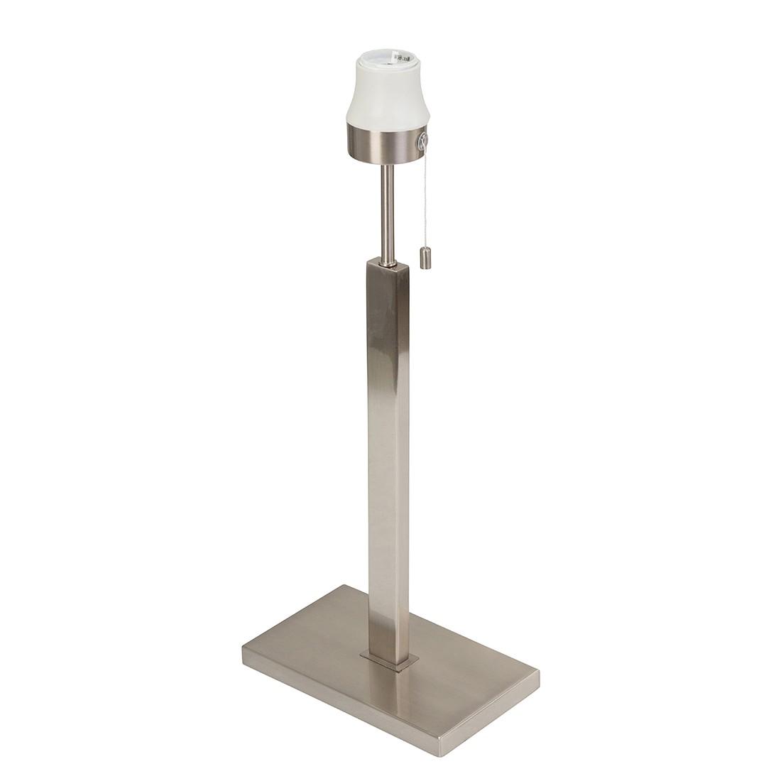 EEK A++, Lampe de table avec armature Louis - 1 ampoule Nickel mat, Steinhauer