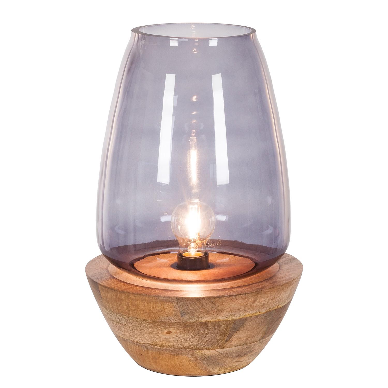 EEK A++, Lampe de table Mourenx - Verre / Bambou - 1 ampoule - 41, Eva Padberg Collection