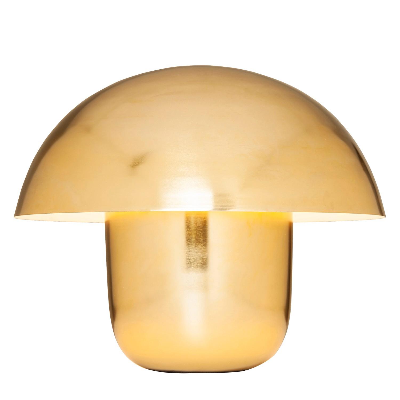EEK A++, Lampe de table Mushroom - Acier - 1 ampoule - Doré, Kare Design